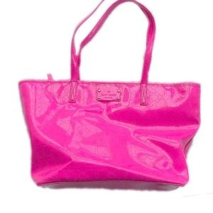 Pre-owned Kate Spade Small Harmony Metro Pink